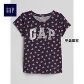 Gap女嬰幼童 純棉Gap Logo圖案柔軟短袖T恤 262393-甲蟲圖案