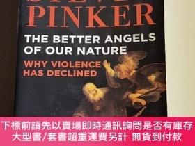 二手書博民逛書店the罕見better angles of our nature: why violence has declin