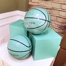 籃球蒂芙尼藍色室外水泥地