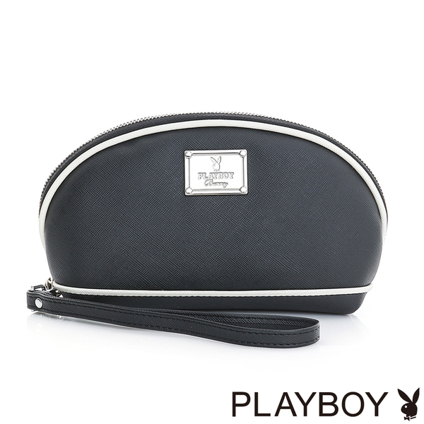 PLAYBOY- 化妝包 Firefly 螢火蟲狂想系列-經典黑白