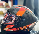 RSV安全帽,SPYDER,終極/消光黑紅