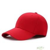 棒球帽 帽子正韓男女棒球帽印字遮陽帽鴨舌帽 【降價兩天】
