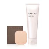 【KANEBO 】購LS晶巧光漾粉餅蕊(OC02) 贈KN清爽洗顏皂霜