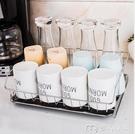 杯架瀝水托盤杯架家用掛杯架玻璃杯架水杯置物架茶杯架晾杯架水杯收納 【快速出貨】YYS