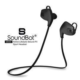 藍牙耳機 美國聲霸SoundBot SB565 藍牙4.0 運動防水 防汗入耳機 鐵三角 A