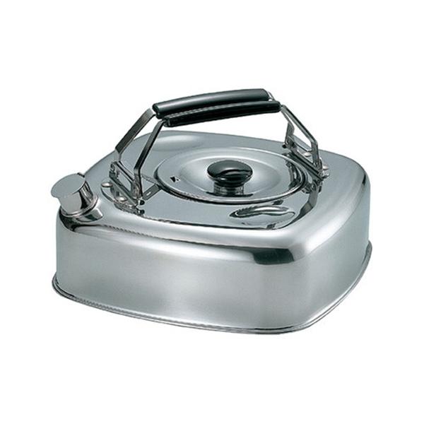 【日本製】【杉山金屬】日本製 方型麥茶壺 熱水壺 2.8L(一組:16個) SD-13750-16 - 杉山金屬