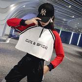 新年鉅惠學生爵士舞服裝街舞上衣寬鬆嘻哈韓版練功哈倫褲成人現代舞蹈套裝