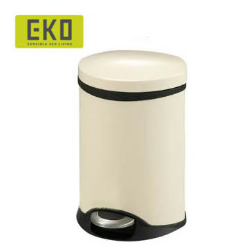 【HOME WORKING】EKO 海貝靜音垃圾桶-10L (四色可選)