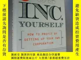二手書博民逛書店INC.罕見Yourself:How to profit by