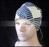 男波浪格紋葫蘆帽手術帽 護士麻醉醫生手術外科布帽子LG-881907