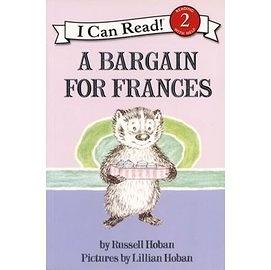 〈汪培珽英文書單〉〈An I Can Read系列:Level 2)A BARGAIN FOR FRANCES / 讀本
