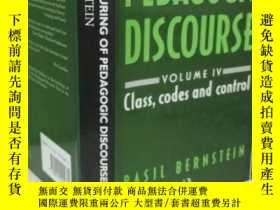 二手書博民逛書店Class,罕見Codes and Control : The Structuring of Pedagogic