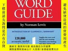 二手書博民逛書店Comprehensive罕見Word Guide-綜合詞匯指南Y436638 Norman Lewis Ge