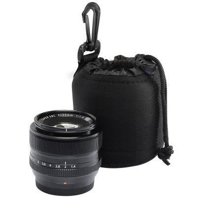 【晶豪泰】Kamera 彈性鏡頭保護袋 (S) SONY QX10 QX100 適用 防水 防撞擊 sony canon 35mm 50mm