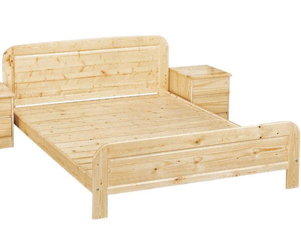 床架 床台 PK-304-6 松木5尺雙人床 (不含床墊) 【大眾家居舘】