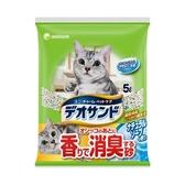 消臭大師尿尿後消臭貓砂-肥皂香5Lx4包/箱-箱購