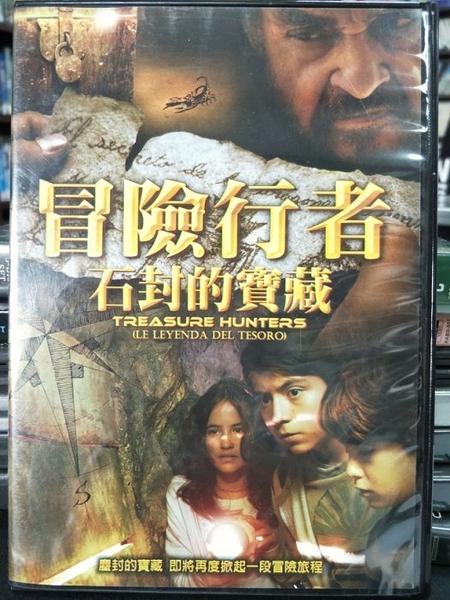 挖寶二手片-P08-008-正版DVD-電影【冒險行者:石封的寶藏】-阿德里安阿隆索 約翰萊斯戴維斯(直購