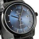 【萬年鐘錶】日系SIGMA經典 男錶  黑x藍色  40mm 1122M-B3