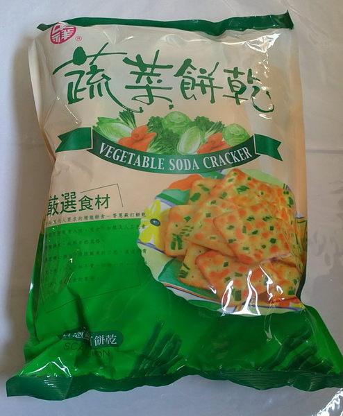 sns 古早味 懷舊零食 中祥 蔬菜餅 (香蔥蘇打餅乾) 360公克