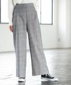 寬褲 起毛 棉料 彈性纖維 後鬆緊 輕便  日本品牌【coen】