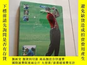 二手書博民逛書店DAVID罕見LEADBETTER and TIGER WOODS Golf Teaching Video DVD