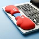 原創拳擊手套硅膠機械鍵盤手托護腕滑鼠墊可愛舒適掌托腕托辦公手腕 樂活生活館