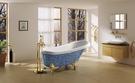 【麗室衛浴】BATHTUB WORLD    YG3320M2   拼貼馬賽克古典貴妃 1600*750*750mm