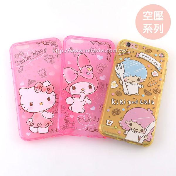 【Sanrio 】iPhone 6/6s 防摔氣墊空壓保護套-手繪系列