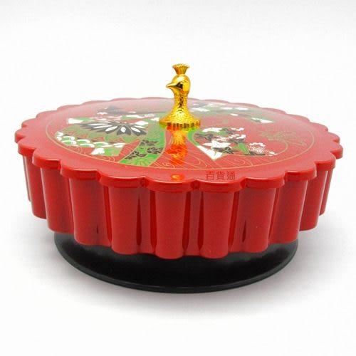 彩虹旋轉餅盒 餅乾盒 糖果盒 喜慶宴客 過年過節 結婚嫁娶 送禮自用 台灣製[百貨通]