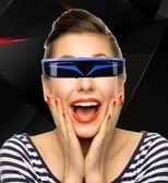 VR 輕便VR眼鏡壹體機3D智能視頻眼鏡頭戴顯示器移動影院非全景  霓裳細軟