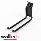 法國品牌walltech 掛鉤雙勾長型黑色烤漆款