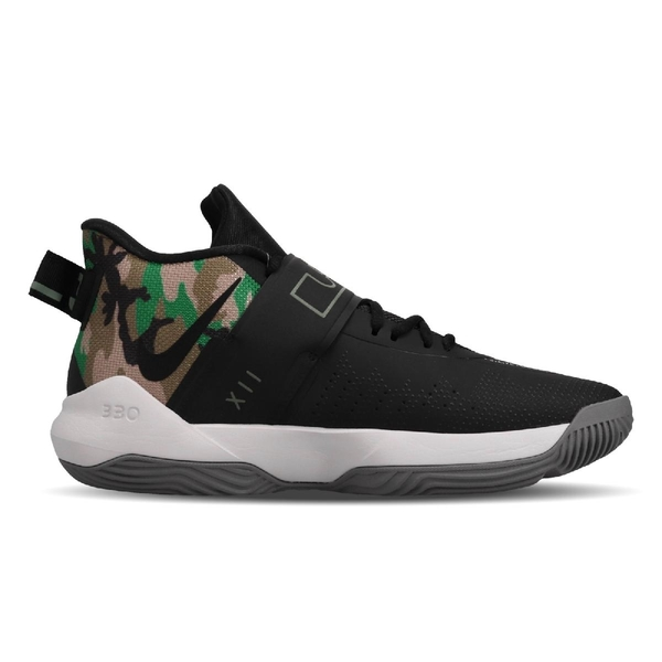 【五折特賣】Nike 籃球鞋 Ambassador XII 黑 綠 迷彩 男鞋 運動鞋 12代 【ACS】 BQ5436-004