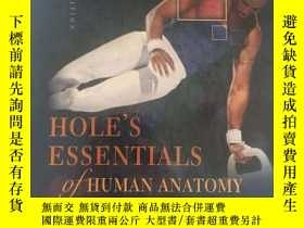二手書博民逛書店hole s罕見essentials of human anat