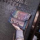 ins超火錬條包包女2020上新款時尚韓版潮 百搭簡約小方單肩包「時尚彩紅屋」