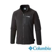 Columbia 男 鈦PL200刷毛外套-黑色 UAE30950BK【GO WILD】