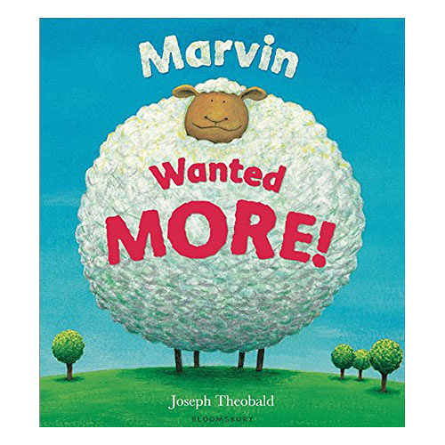 Marvin Wanted More情緒管理主題英文繪本圖畫童書