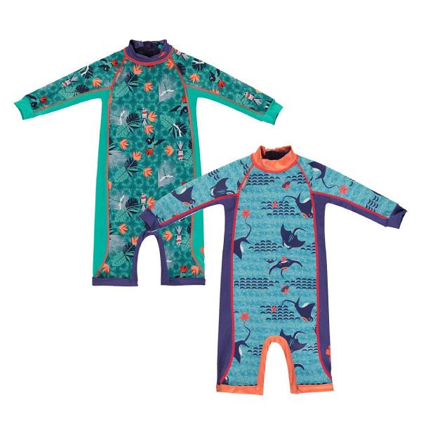 英國 Close Pop-in 嬰兒長袖泳裝|泳衣(蜂鳥/魟魚)1~4歲+