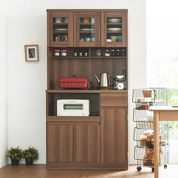 餐櫃 電器櫃 餐廚櫃 廚房架 上下櫃【N0058】夏佐雙層收納廚房櫃180cm 完美主義 ac