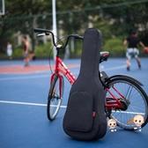 吉他包 復古民謠吉他包36/38/39/40/41寸加厚雙肩木吉他背包琴包吉他袋套T 2色 雙12提前購