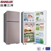 【三洋家電】480L定頻雙門電冰箱 一級節能《SR-C480B1》全新原廠保固(香檳紫)