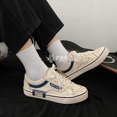 帆布鞋 鞋子男韓版潮流帆布鞋男士百搭休閒鞋春季ins板鞋學院風小白鞋潮