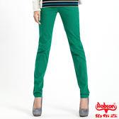 BOBSON 女款多彩色彈性小直筒褲(8067-41)