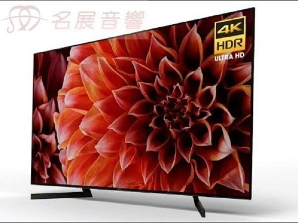 名展影音/台北館 ~SONY美規XBR-65X900F 65吋4K電視 另售KD-65X9000F【台中以北含基本安裝】