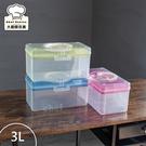 樹德手提箱工具箱醫藥箱3L化妝箱整理盒收納盒TB300-大廚師百貨