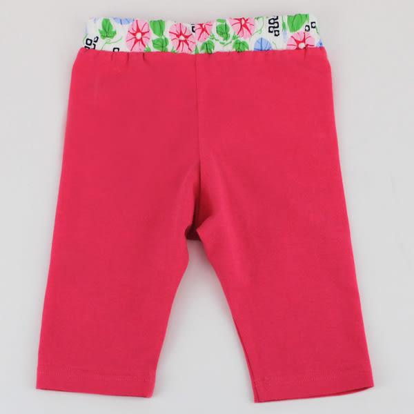【愛的世界】彈性緊身七分褲-紅/10歲-台灣製- ★春夏下著