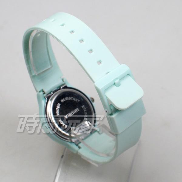 MRUIKA 時尚數字 A2021綠黑 簡單腕錶 防水手錶 數字錶 男錶 女錶 學生錶 兒童手錶 中性錶