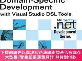 二手書博民逛書店Domain-specific罕見Development With Visual Studio Dsl Tools