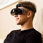 VR眼鏡 4K影院嗨鏡H2智慧視頻3D眼鏡全景頭戴式頭盔VR眼鏡一體機虛擬現實夏洛特