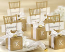 婚禮小物-金色椅子喜糖盒/330個...