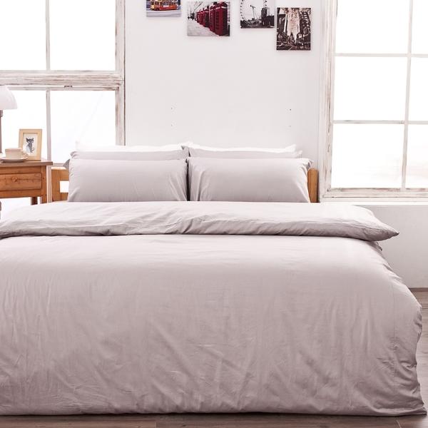 床包 / 雙人【岩石巧克力】含兩件枕套  100%精梳棉  戀家小舖台灣製AAA201